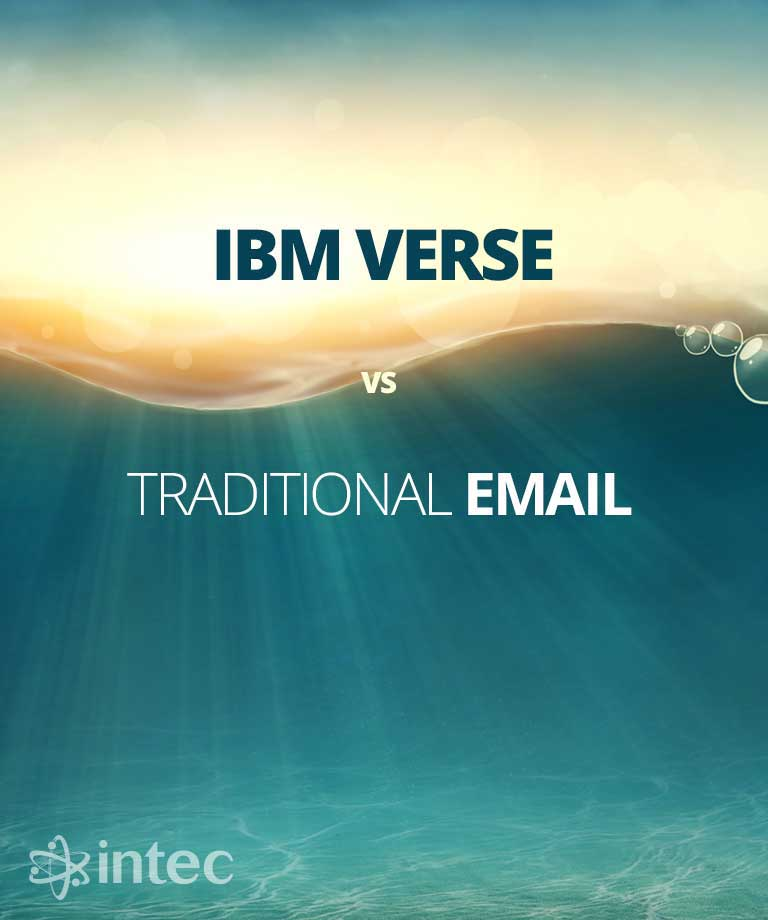IBM Verse vs Traditional Email